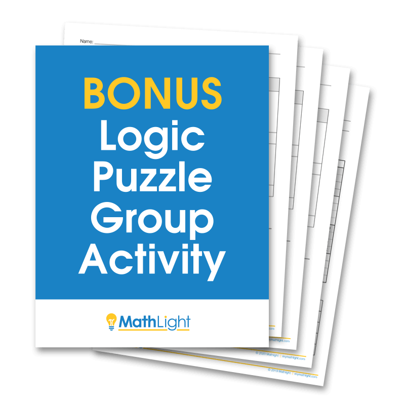 Bonus Logic Puzzle Group Activity