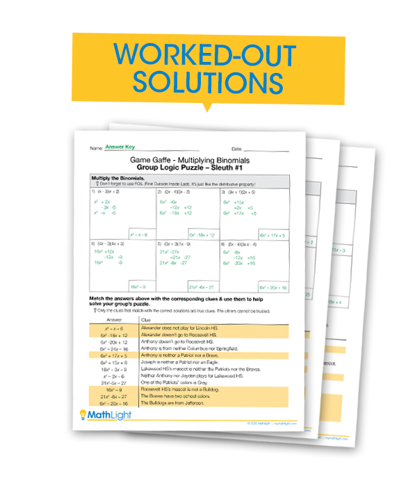 Worked-Out Solutions